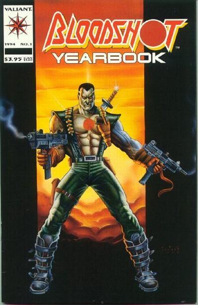 Bloodshot (1993 series) Yearbook #1, NM + (Stock photo)