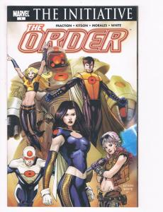 The Order # 1 NM Marvel Comic Book The Initiative Avengers Iron Man Hulk S80
