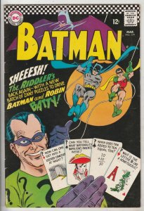 Batman #179 (Mar-66) VF/NM High-Grade Batman