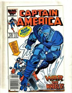 12 Captain America Comics #318 319 320 321 322 323 324 325 326 327 328 329 J412