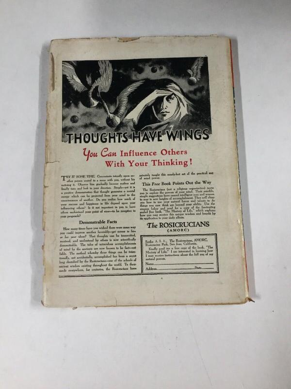 Fantastic Adventures October 1951 Vintage Pulp Magazine Fine ~ Medusa