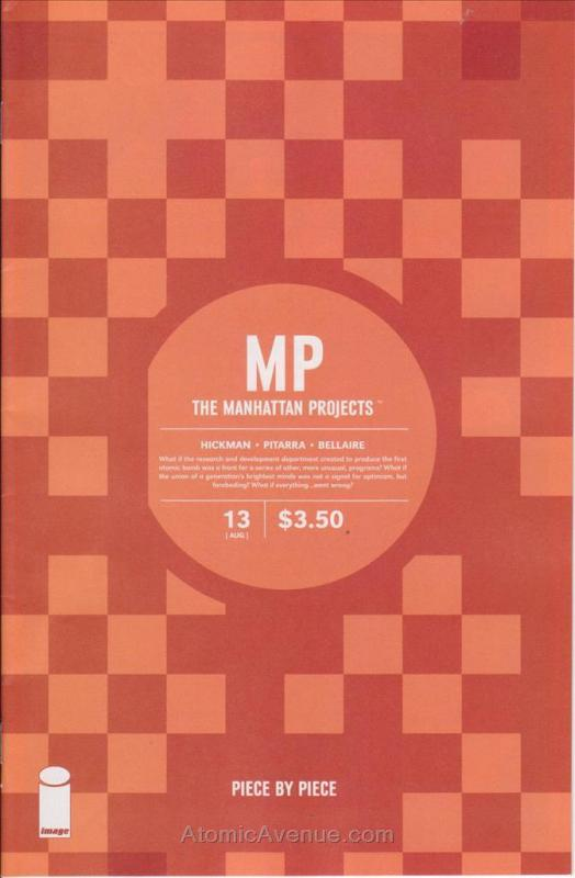 Manhattan Projects, The #13 VF/NM; Image | save on shipping - details inside