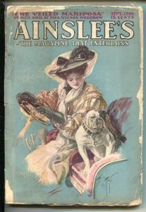 Ainslee's 1/1908--Harrison Fisher cover-Pulp fiction E. Phillips Oppenheim-Ch...