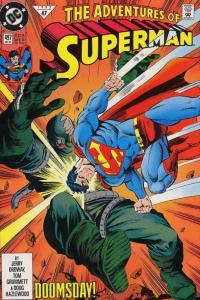 Adventures of Superman #497 VF/NM; DC | save on shipping - details inside