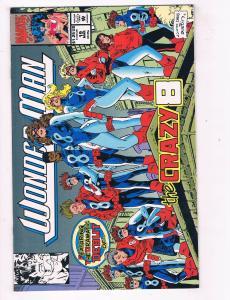 Wonder Man #19 VF Marvel Comics Comic Book Mar 1992 DE41 AD18
