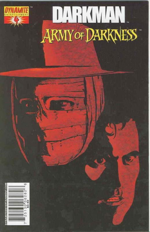 Darkman vs. the Army of Darkness #4A VF/NM; Dynamite | save on shipping - detail
