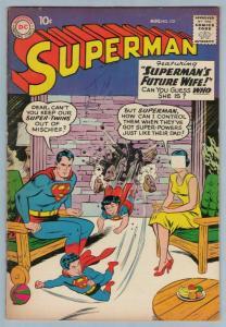 Superman 131 Aug 1959 FI- (5.5)