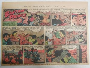 The Bantam Prince Sunday by Lariar and Spranger from 2/11/1951 Size: 11 x 15 in