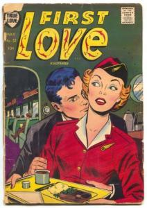 First Love Illustrated #52 1955- Airline Stewardess cover G
