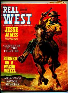REAL WEST MAY 1970-CHARLTON-JESSE JAMES-VG