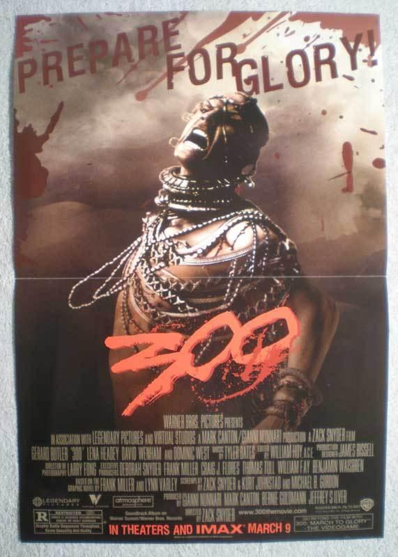 300 XERXES Promo Poster, Frank Miller, 2006, Unused, more in our store