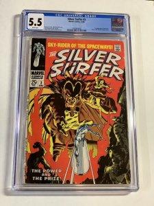 Silver Surfer #3 (Marvel, 1968) CGC Graded 5.5