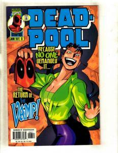 Deadpool # 6 VF Marvel Comic Book X-Men X-Force Wolverine Cable Domino EK8