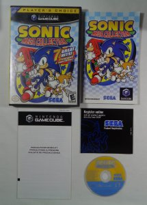 Sonic Mega Collection for Nintendo Gamecube Complete