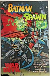 BATMAN & SPAWN#1 VF/NM 1994 'WAR DEVIL' DC COMICS