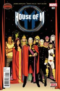 House of M (2015 series) #1, NM- (Stock photo)