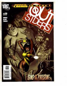 Lot Of 12 Outsiders DC Comic Books # 30 31 32 33 34 35 36 37 38 39 40 41 J259