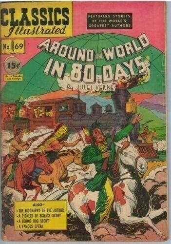 Classics Illustrated 69 (original) Mar 1950 GD (2.0)