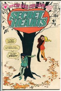Secret Hearts #147 1970-DC-booklength story-spicy art--FN