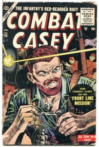 COMBAT CASEY #25 MANEELY ATLAS ROBERT Q SALE WAR ART G