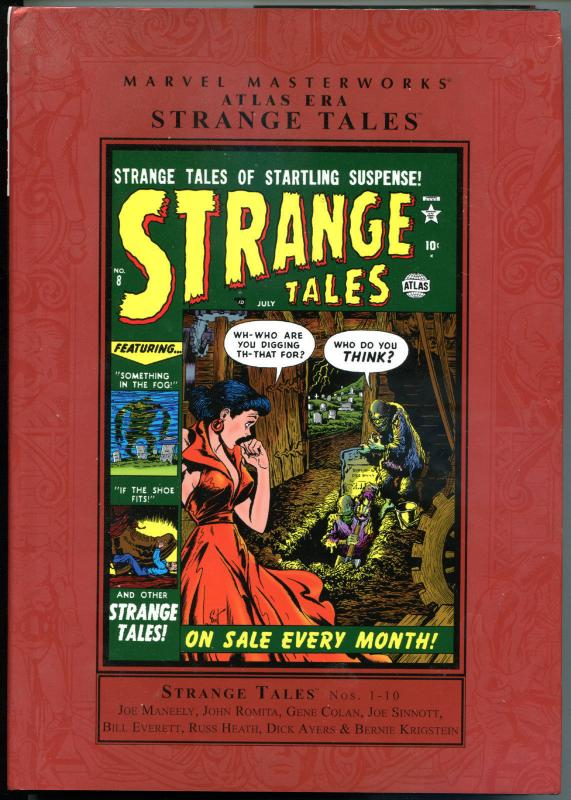 MARVEL MASTERWORKS STRANGE TALES #1 hc, VF+, 2007, w/dj, 1st,  Heath, Romita