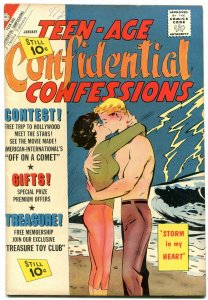 Teen-Age Confidential Confessions #10 1962- Charlton comic VF