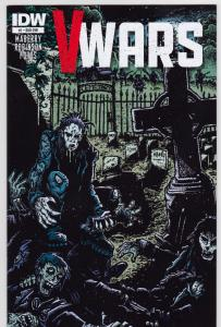 V Wars #1....Subscription Cover... 9.4-NM
