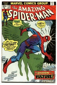 AMAZING SPIDER-MAN #128 comic book-MARVEL-VULTURE VF+