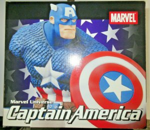 Captain America Marvel Universe Art Asylum Bust Diamond Select Toys #605/4000