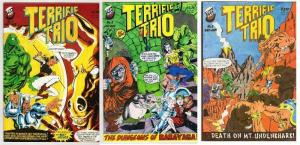 TERRIFIC TRIO (1996 TOP HAT) 1-3   COMPLETE!?! COMICS BOOK