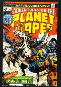 Adventures on the Planet of the Apes #1