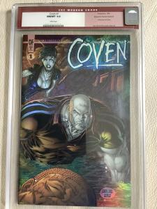 COVEN V2 1 CGC 9.8 Dynamic Forces Holofoil- Variant-Awesome Comics
