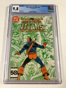 Tales Of The Teen Titans 55 Cgc 9.8 White Pages