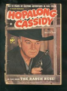 HOPALONG CASSIDY #56-1951-FAWCETT WESTERN-PORTRAIT COVR FR