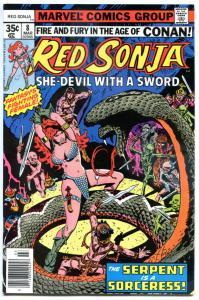 RED SONJA #8, VF/NM, Robert E Howard, She-Devil Sword, Frank Thorne,1977 1978