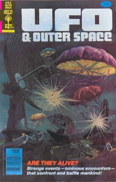 UFO & Outer Space #14 VF; Whitman | save on shipping - details inside