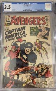 The Avengers #4 (1964)