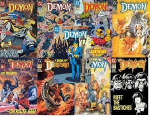 DEMON (1990) 31-39 Eternity Quest LOBO, Wonder Woman