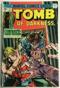 TOMB OF DARKNESS#14 FN/VF 1975 MARVEL BRONZE AGE COMICS