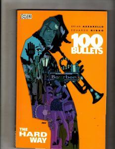 100 Bullets Vol. # 8 The Hard Way DC Vertigo TPB Graphic Novel Comic Book J324