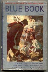 Blue Book Pulp October 1939- Blade of the Buccaneers VG