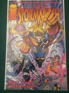 Stormwatch #2 introducing Cannon and Fahrenheit