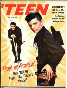 'Teen 5/1959-Petersen-Frankie Avalon-Buddy Holly-Ritchie Valens-Hickman-FN-