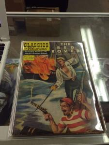 Classics Illustrated #114 The Red Rover VG/VG+ 1st Printing