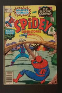 Spidey Super Stories #40 May 1979 Marvel & Electric Company