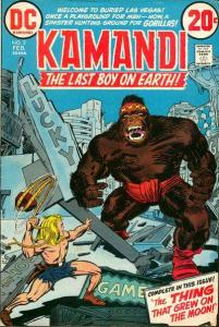 Kamandi: The Last Boy on Earth #3, VF (Stock photo)