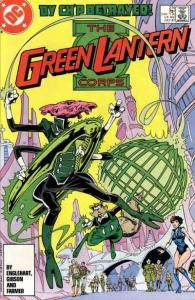 Green Lantern Corps (1986 series) #214, NM- (Stock photo)