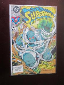 Superman The Man of Steel (1991) #18 - 8.5 VF+ - 1992
