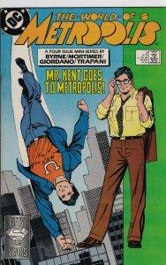 DC Comics! The World of Metropolis! Issue 3!