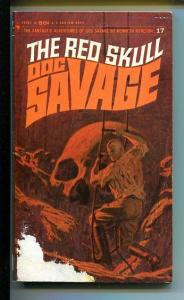 DOC SAVAGE-THE RED SKULL-#17-ROBESON-G- JAMES BAMA COVER G